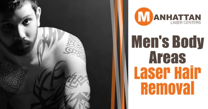 Men's Body Areas – Laser Hair Removal