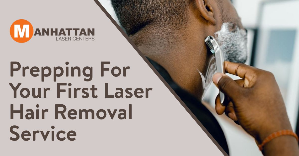 Prepping For Your First Laser Hair Removal Service